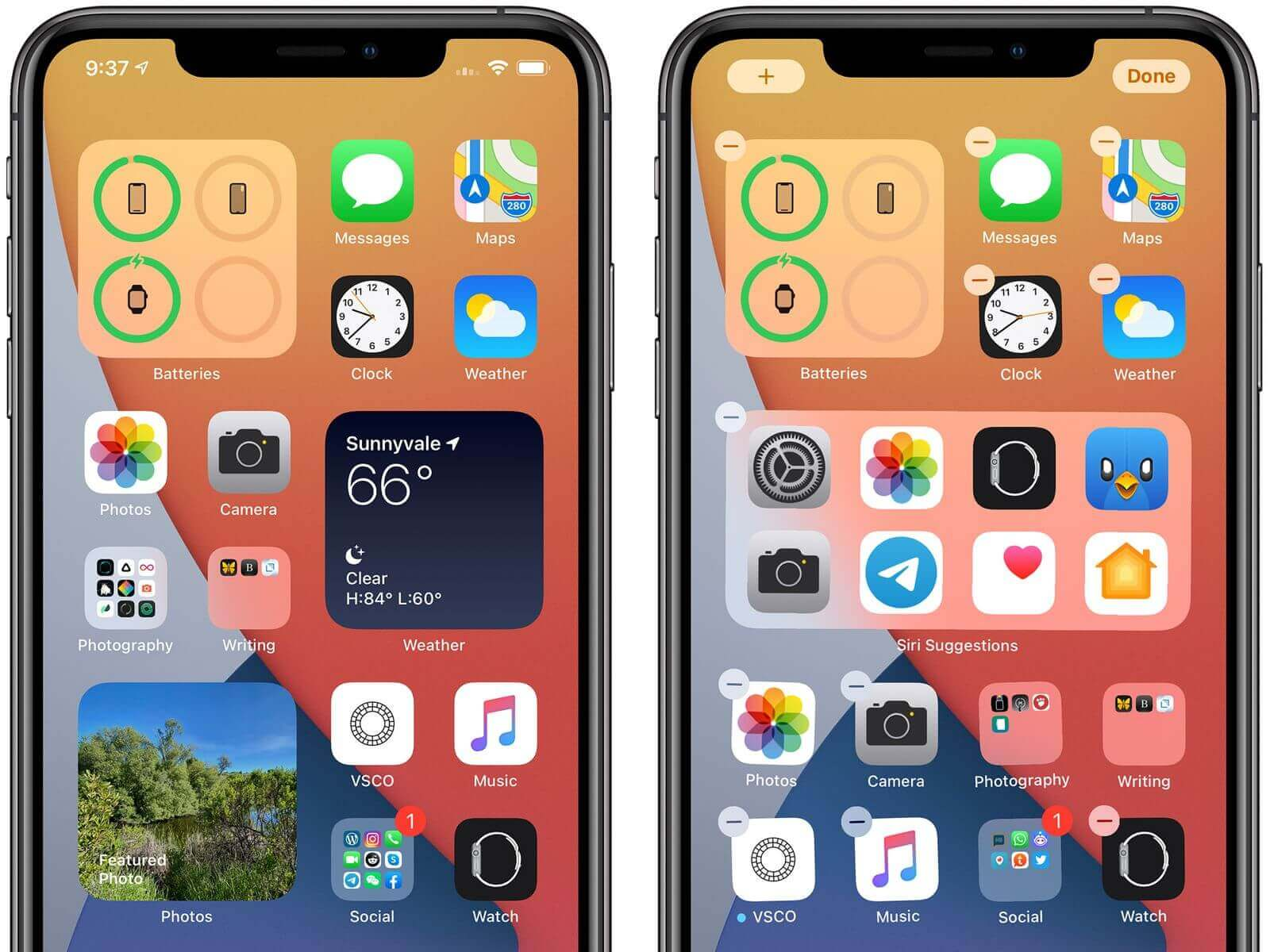 home screen widgets in ios 14