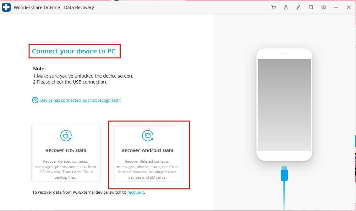 recover android data