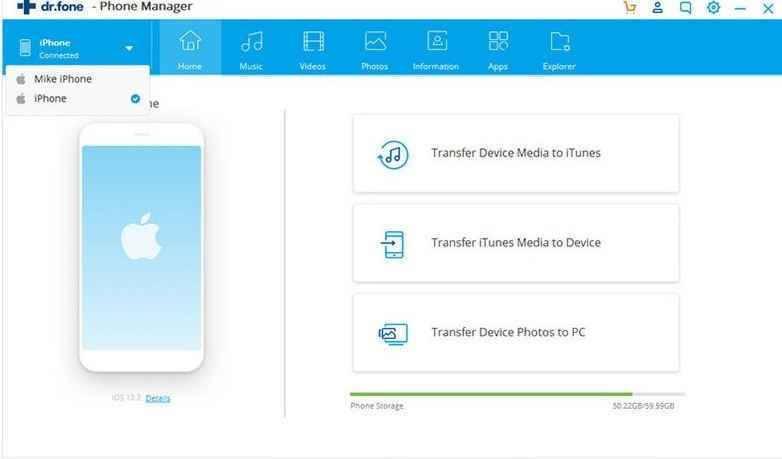 choose transfer module