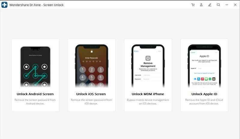 choose unlock mode