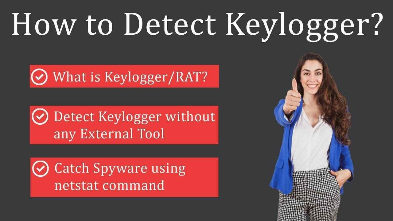 detect keylogger