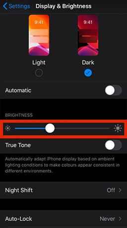 drag brightness symbol