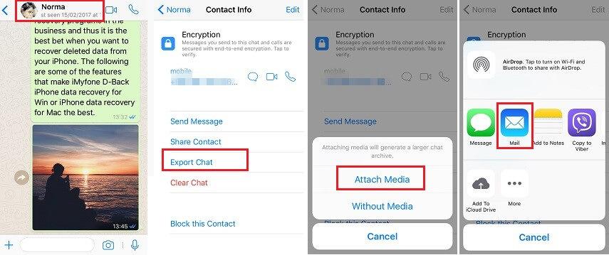 convert whatsapp chat as pdf