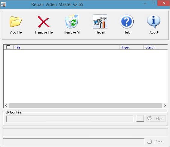 use repair video master to repair videos