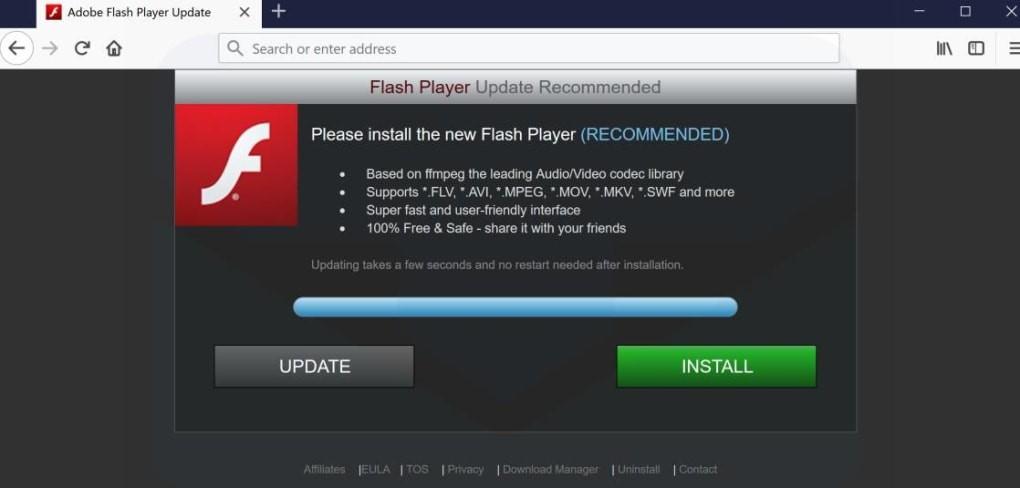 update adobe flash player