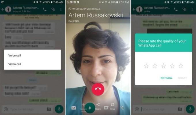 whatsapp video iphone
