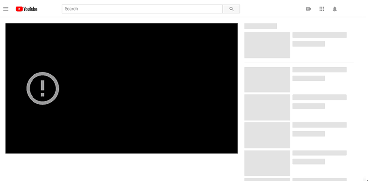 how to fix a youtube video error