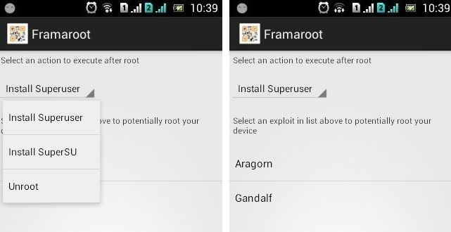 get access to android root