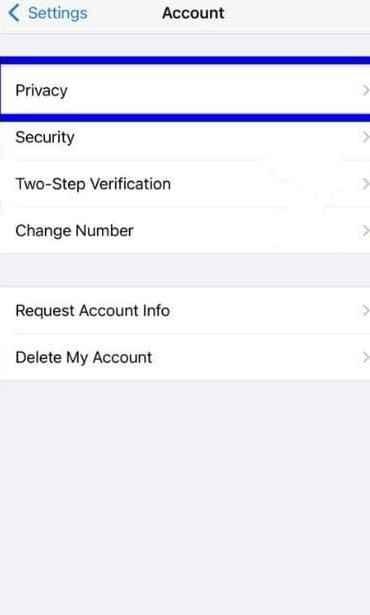 tap privacy