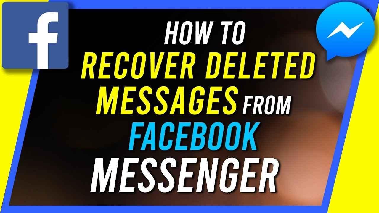 recover facebook information