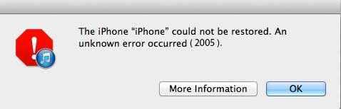 error 2005