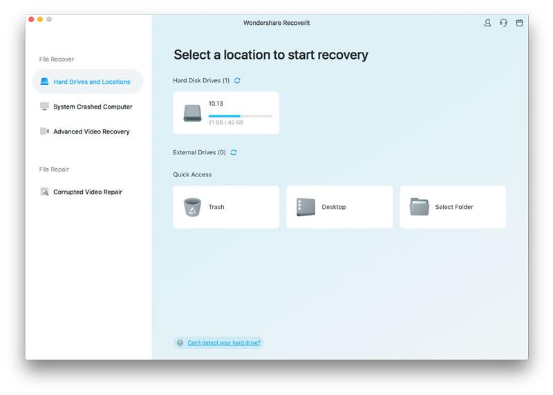 mac files recovery