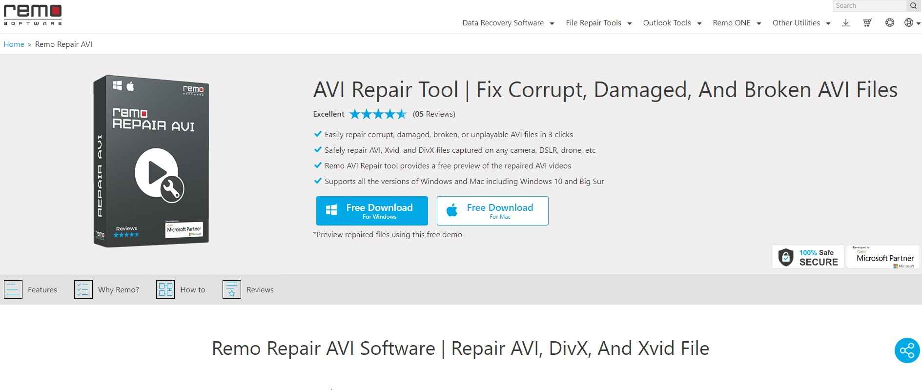 remo repair