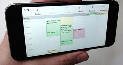 How to Backup & Restore iPhone Calendar with iCloud
