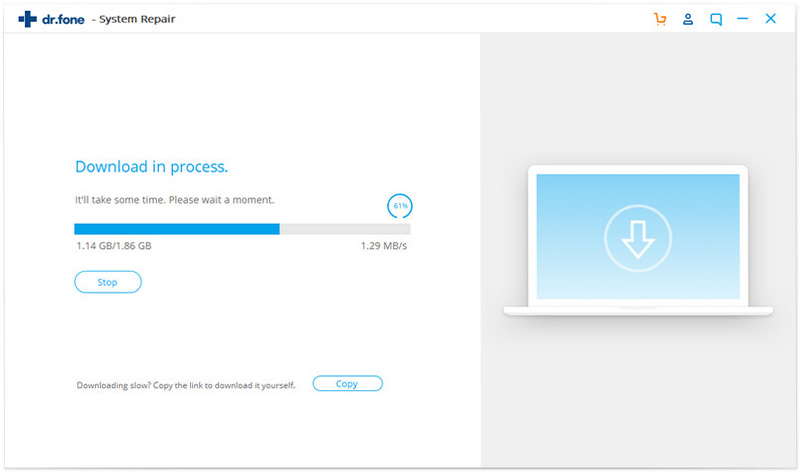downloading process