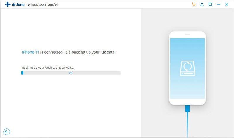 backuo kik data easily