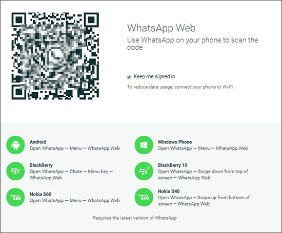 access whatsapp web on computer