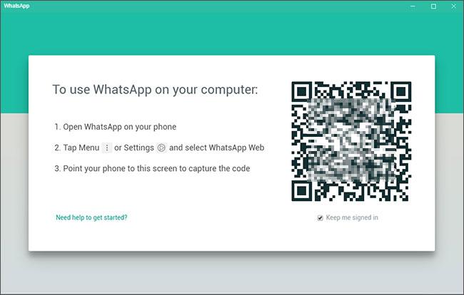 access whatsapp on windows