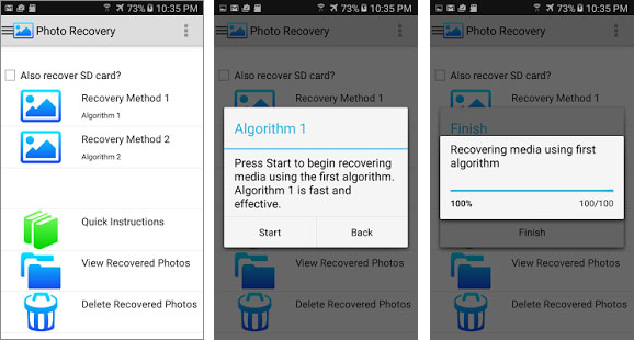 top android photo recovery app