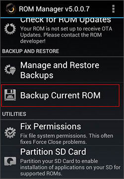 backup android firmware stock rom to pc