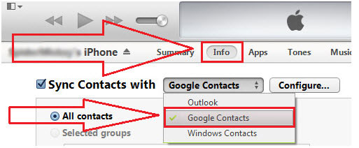how to delete contacts backup from google account