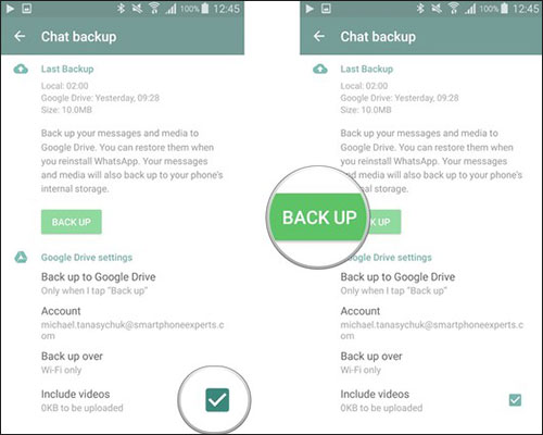 how to download whatsapp backup from google drive to pc