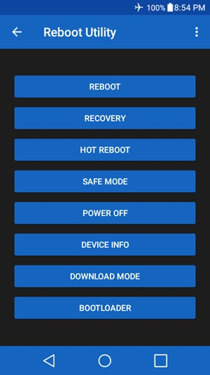 android restart app