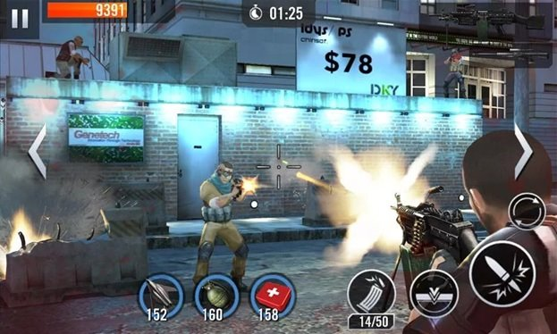 free action games for android