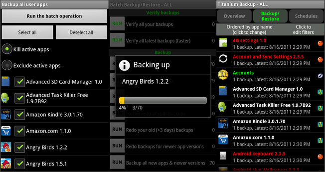 android titanium backup