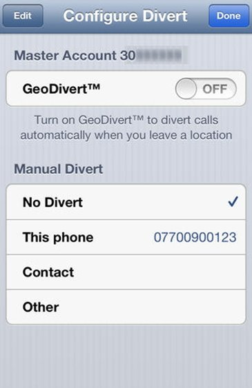call forwarding for iphone