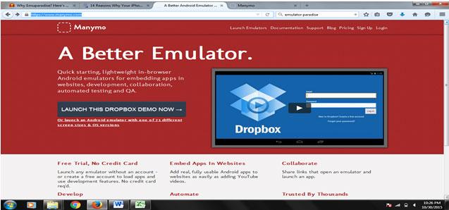 best online emulator