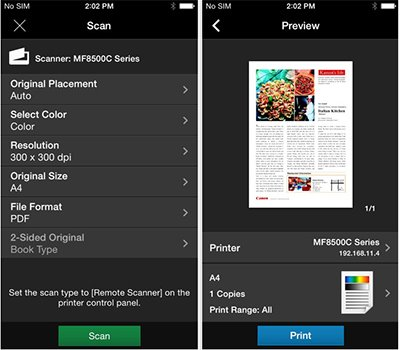 best app to print from iphone