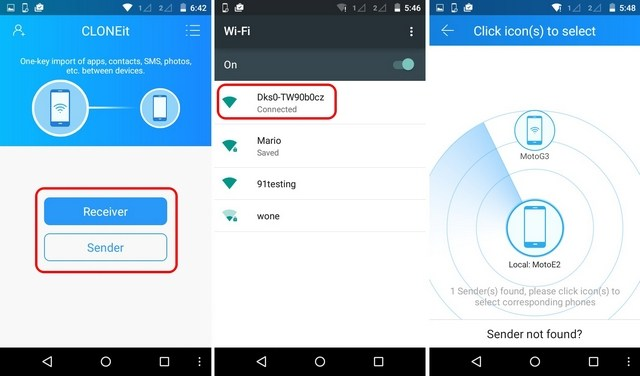 connect android devices to wifi