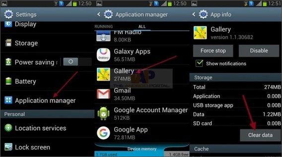 delete auto backup photos android