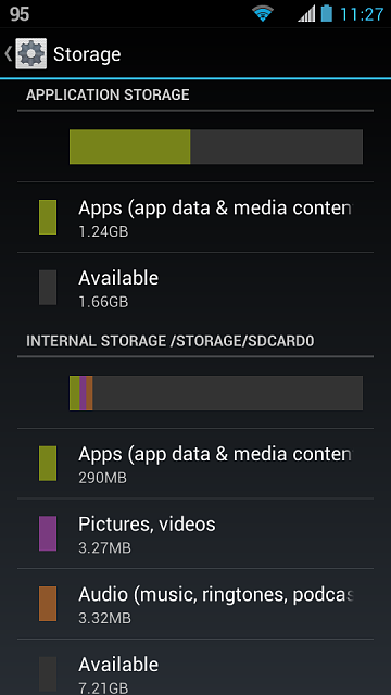 delete data from android