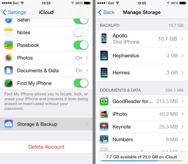 Full Solutions to Delete iPhone Backup Files from iTunes/iCloud