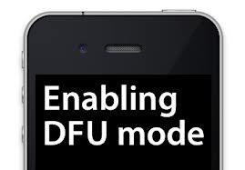 restore dfu iphone