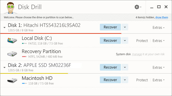 Disk Drill Data Recovery