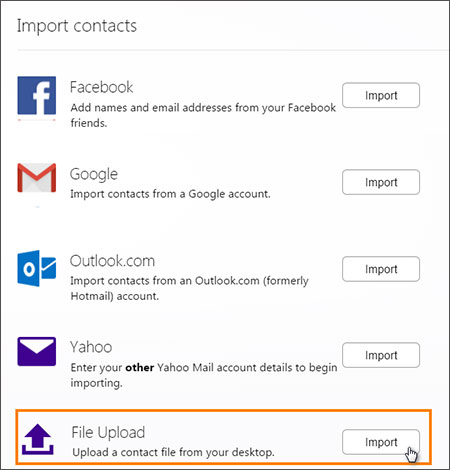 export iphone contacts to hotmail