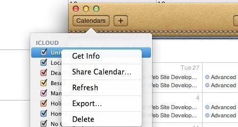 ipad backup calendar