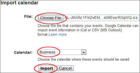 how to export calendar from icloud to gmail
