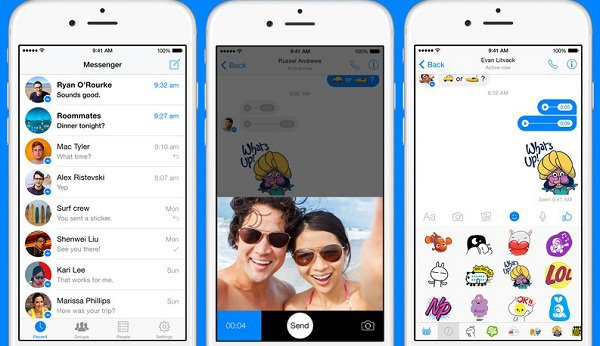 facebook messenger for iphone how to send messages with messenger on iphone and 7165