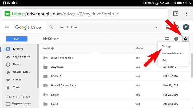 download google drive backups