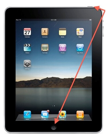how to fix ipad frozen