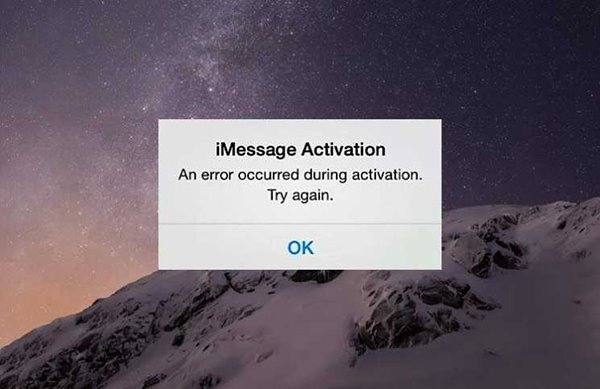 imessage activation