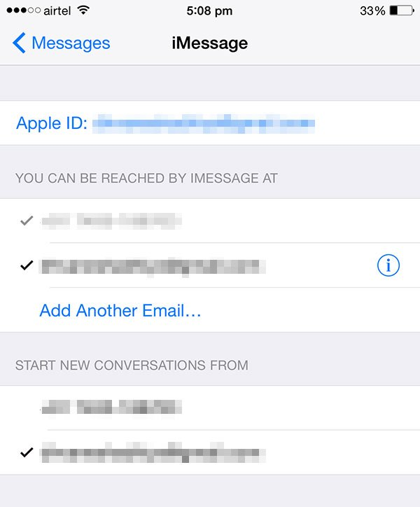 fix imessage activation error