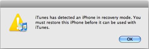 restore iphone error 27