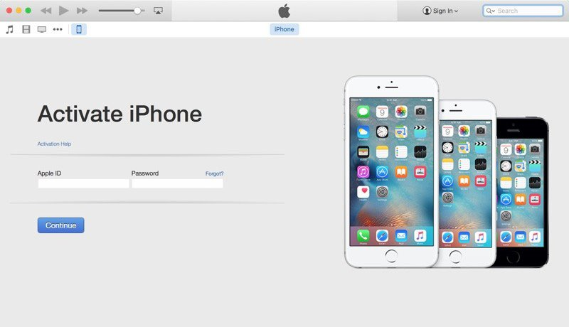 how to activate verizon iPhone