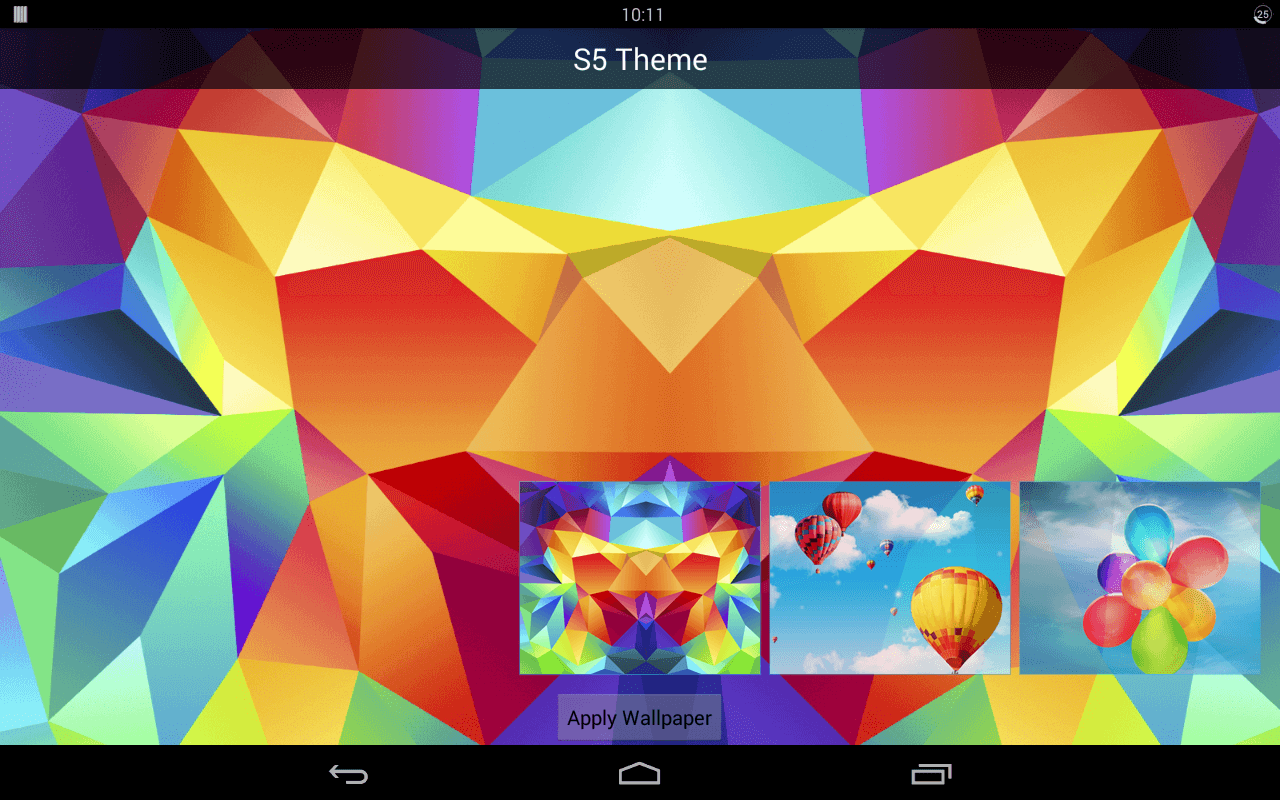 install themes androidd