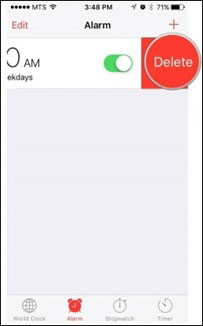 iPhone alarm no sound